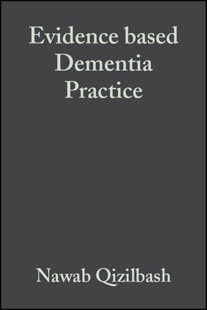 Evidence based Dementia Practice (0632052961) cover image