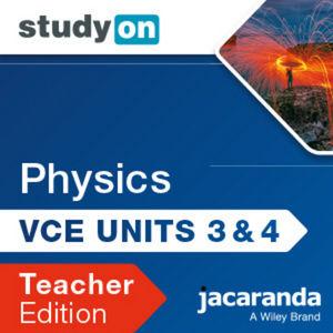 StudyOn VCE Physics Unit 3 & 4 3e Teacher Edition (Online Purchase)
