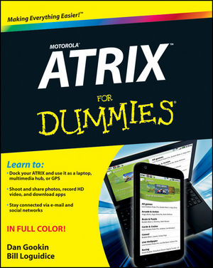 Motorola ATRIX For Dummies (1118142861) cover image