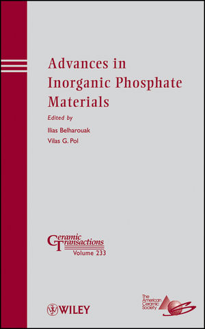 Advances in Inorganic Phosphate Materials (1118273761) cover image