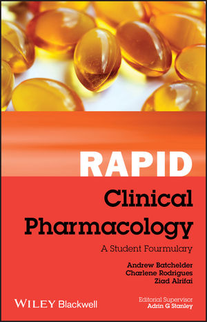 Rapid Clinical Pharmacology: A Student Formulary (1118293061) cover image
