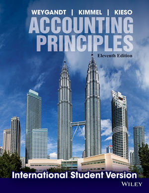 Accounting Principles, 11th Edition International Student Version (1118323661) cover image