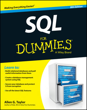 SQL For Dummies, 8th Edition (1118607961) cover image