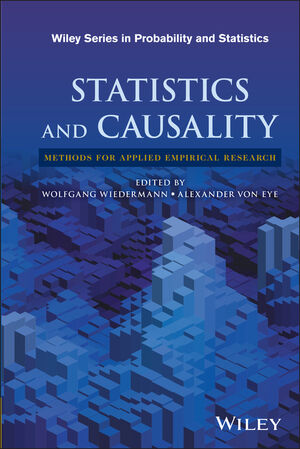 Statistics and Causality: Methods for Applied Empirical Research (1118947061) cover image