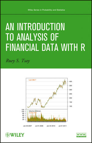 An Introduction to Analysis of Financial Data with R (1119013461) cover image