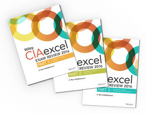 Wiley CIAexcel Exam Review 2016: Study Guides Set