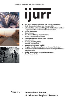 International Journal of Urban and Regional Research, Volume 42, Issue 3