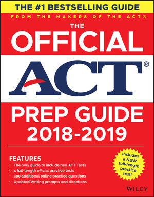 The Official ACT Prep Guide, 2020 Edition (Book + Bonus Online Content)