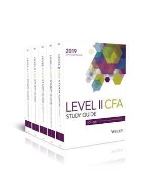 Wiley Study Guide for 2019 Level II CFA Exam: Complete Set