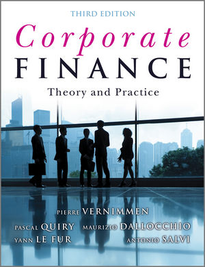 Corporate Finance: Theory and Practice, 3rd Edition (1119960061) cover image