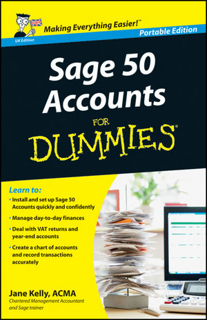Sage 50 Accounts For Dummies, Portable Edition