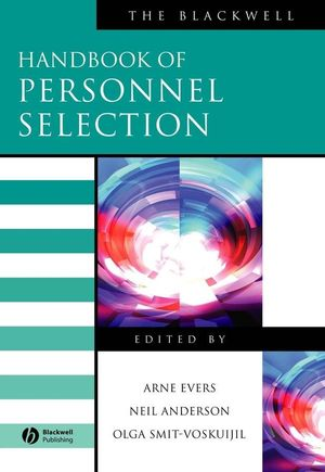 The Blackwell Handbook of Personnel Selection (1405144661) cover image