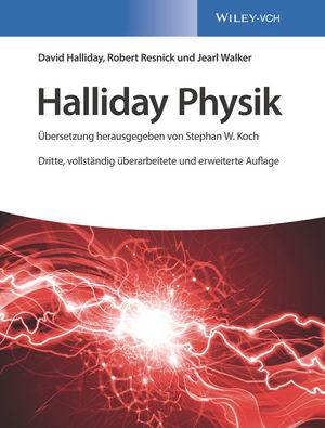 Halliday Physik, 3. Auflage (3527413561) cover image