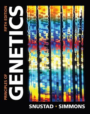 Principles of Genetics, 5th Edition (EHEP000261) cover image