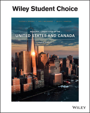 Regional Landscapes of the US and Canada, 8th Edition (EHEP003661) cover image
