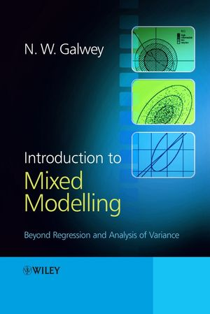 Introduction to Mixed Modelling: Beyond Regression and Analysis of Variance (0470014962) cover image