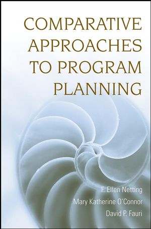 Comparative Approaches to Program Planning (0470230762) cover image