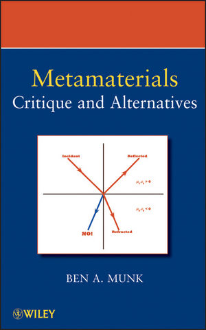 Metamaterials: Critique and Alternatives (0470423862) cover image