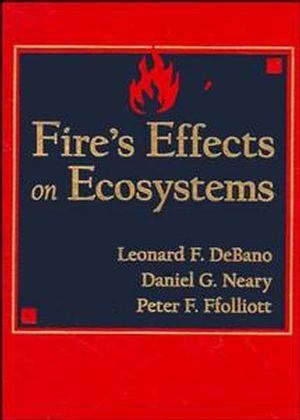 Fire Effects on Ecosystems  (0471163562) cover image