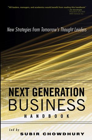 Next Generation Business Handbook: New Strategies from Tomorrow