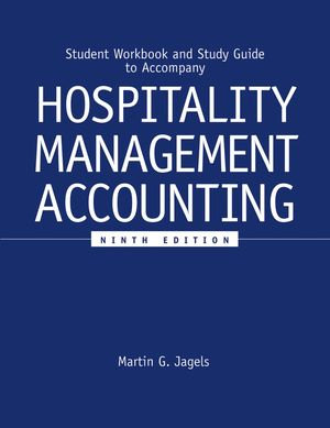 Student Workbook and Study Guide to accompany Hospitality Management Accounting, 9e (0471689262) cover image