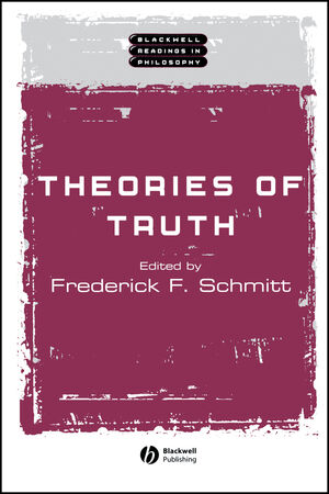 Theories of Truth (0631222162) cover image