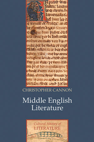 Middle English Literature (0745654762) cover image
