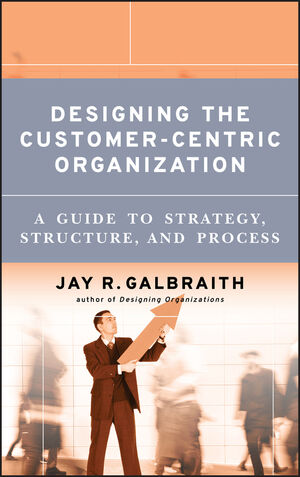 Designing the Customer-Centric Organization: A Guide to Strategy, Structure, and Process (1118046862) cover image