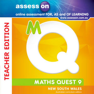 Assesson Maths Quest 9 for New South Wales Australian Curriculum Edition, Stages 5.1, 5.2 and 5.3 Teacher Edition (Online Purchase)
