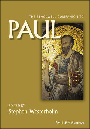 The Blackwell Companion to Paul (1118724062) cover image