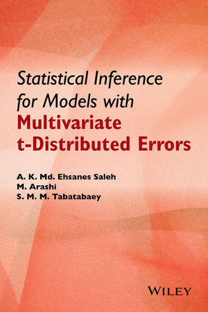 Statistical Inference for Models with Multivariate t-Distributed Errors (1118853962) cover image