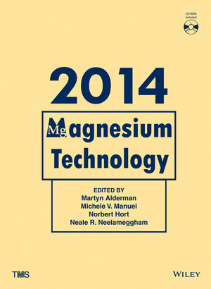 Magnesium Technology 2014 (1118888162) cover image