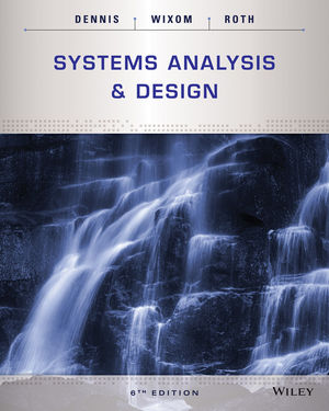 Systems Analysis And Design 6th Edition Wiley