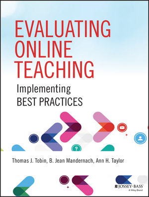 book cover: Evaluating Online Teaching