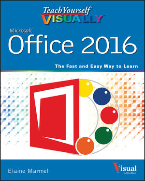 Teach Yourself VISUALLY Office 2016 (1119074762) cover image