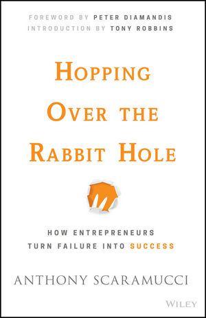 Hopping over the Rabbit Hole: How Entrepreneurs Turn Failure into Success (1119153662) cover image
