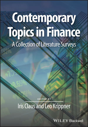 Contemporary Topics in Finance: A Collection of Literature Surveys