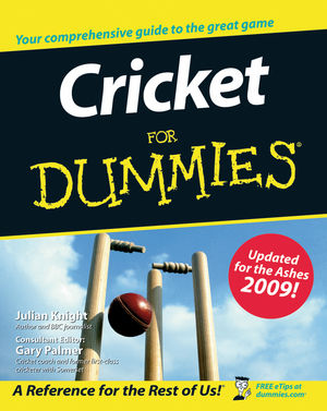Cricket For Dummies (1119996562) cover image