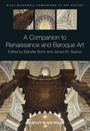A Companion to Renaissance and Baroque Art (1444337262) cover image