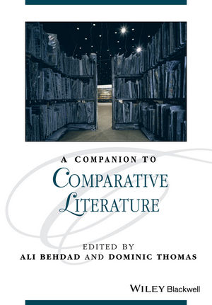 A Companion to Comparative Literature (1444342762) cover image