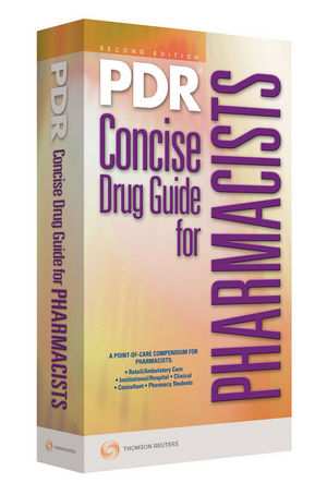 2009 PDR Concise Drug Guide for Pharmacists, 2nd Edition