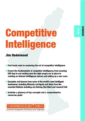 Competitive Intelligence: Strategy 03.09