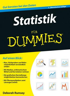 Statistik für Dummies, 3. Auflage (3527692762) cover image