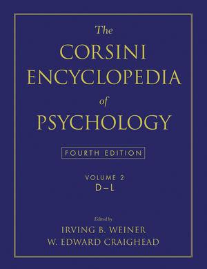 The Corsini Encyclopedia of Psychology, Volume 2, 4th Edition