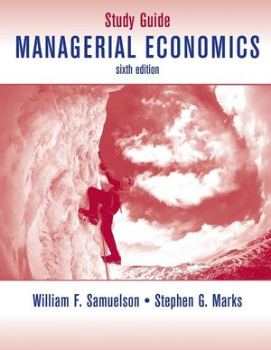 managerial econ study guide The master of science in management, technology and economics study  guide 2017/18 department of management, technology and economics.
