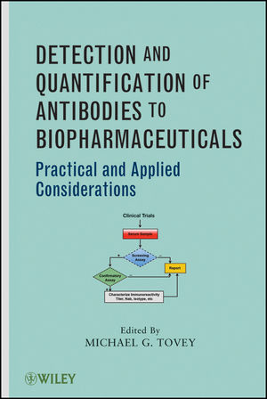 Detection and Quantification of Antibodies to Biopharmaceuticals: Practical and Applied Considerations (0470566663) cover image