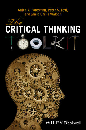 The Critical Thinking Toolkit  (0470659963) cover image