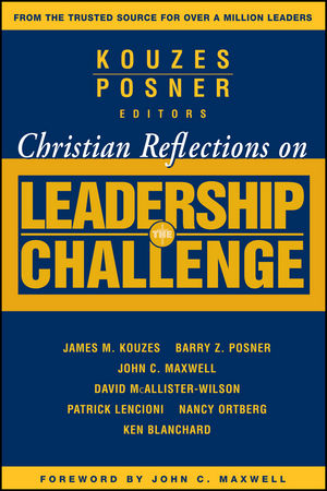 Christian Reflections on The Leadership Challenge (0470730463) cover image