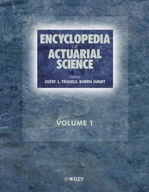 Encyclopedia of Actuarial Science, 3 Volume Set (0470846763) cover image