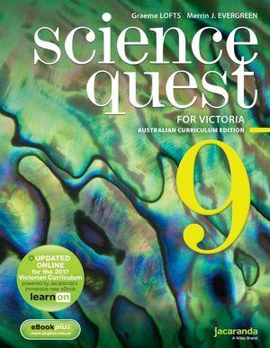 Science Quest 9 Australian Curriculum Victorian Edition & EbookPlus
